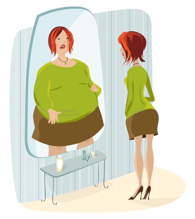 навязчивая идея похудеть